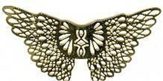 """2"""" Upswept Wings"""