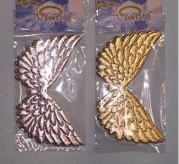 "Picture of 3-3/4"" x 3"" Embossed Wings"