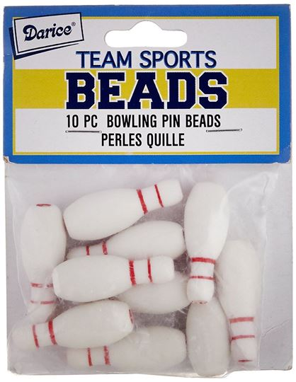 Bowling Pin Beads