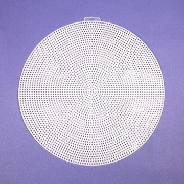 """9-1/2"""" Round Plastic Canvas"""