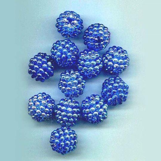 Iridescent Berry Bead