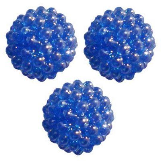 dark sapphire berry beads