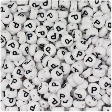 """Round """"P"""" Beads"""