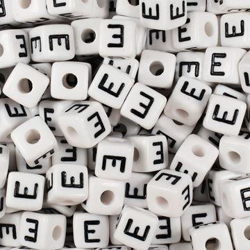 "Square ""E"" Beads"