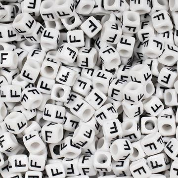 "Square ""F"" Beads"