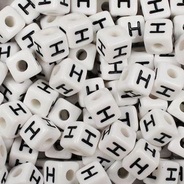 "Square ""H"" Beads"