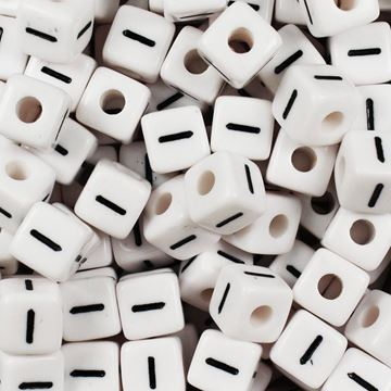 "Square ""I"" Beads"