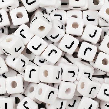 "Square ""J"" Beads"