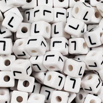 "Square ""L"" Beads"