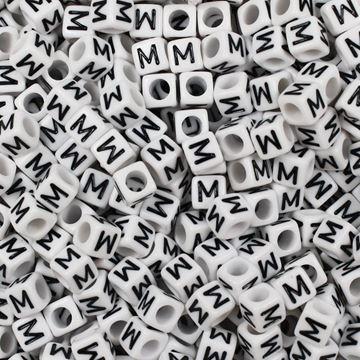 "Square ""M"" Beads"