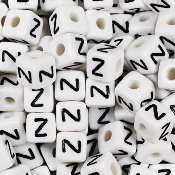 "Square ""Z"" Beads"