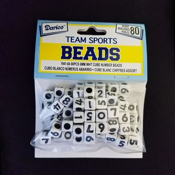 Square Number Beads