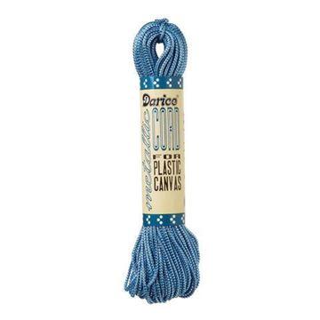 115 Light Blue/Silver Darice Metallic Cord