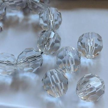 15mm Faceted Beads