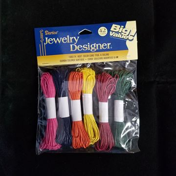 Cotton Cord, Assorted Colors