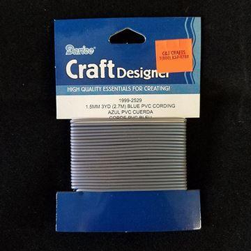Blue PVC Cording