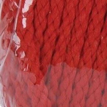 408 Red Braided Macrame Cord