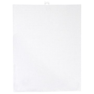 #7 Darice Plastic Canvas - White