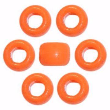 O-3865 Orange Pony Beads