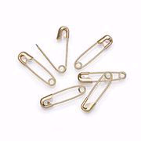 Shiny Gold Safety Pins