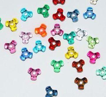 11mm Tri Beads