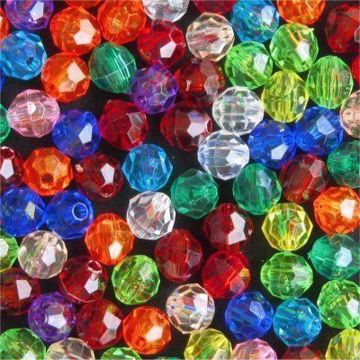 8mm Faceted Beads