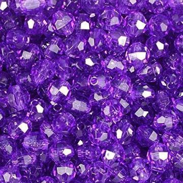 T-144 Amethyst Faceted Beads